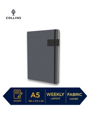 Collins black Collins GAIA ─ 2021 Calendar Year Diary ─ Black ─ A5 Week to View DB23FHL43CDCDAGS_1