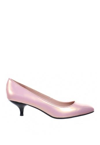 PRODUIT PARFAIT pink Pearl pointed toe pumps 84B59SHB57B983GS_1