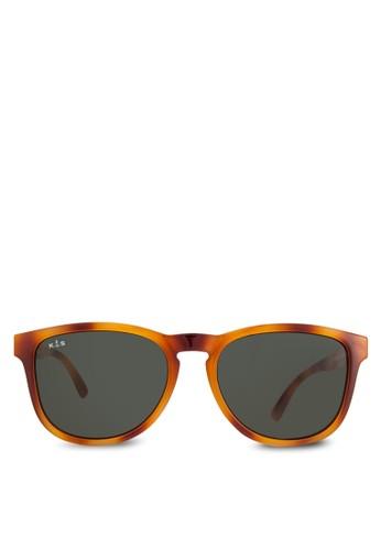 Soho 玳瑁方框太陽眼鏡, 飾品配件, 飾品esprit 請人配件