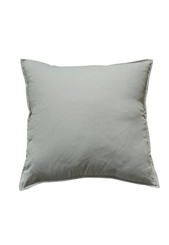 DILAS HOME Basic Lightweight Cushion Cover (Grey) 129D5HL21971BCGS_1