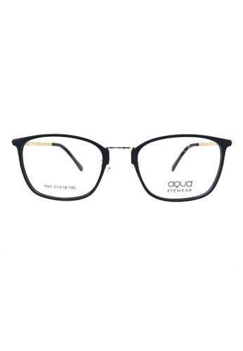 Ibrillen Optical black AQUA 1850 Black Gold Kacamata Ringan Stylish Fashionable EEF4BGLADF81F9GS_1