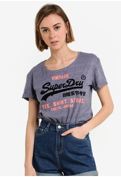 2cb6fb379b6285 Shop Superdry Tops for Women Online on ZALORA Philippines