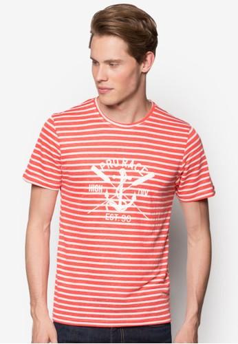 海軍風條紋TEE, 服飾,esprit分店地址 條紋T恤