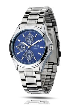 NARY Men's Stainless Steel Watch - 6104