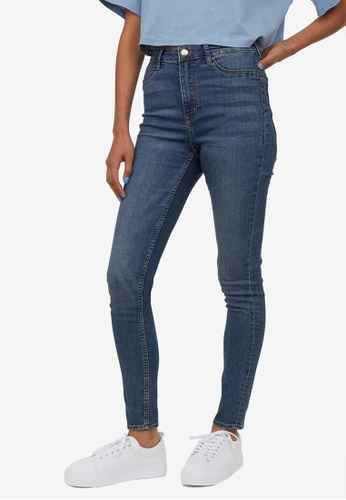 H&M blue Super Skinny High Jeans 8EFD9AA1EC650AGS_1