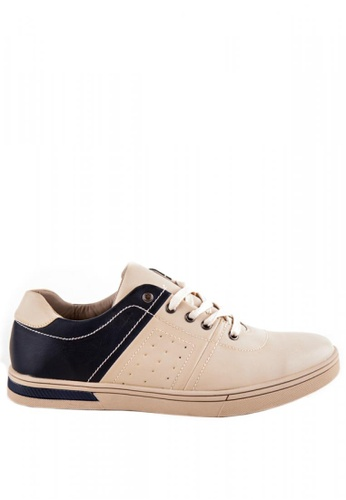 Otto beige Men's Sneakers 325CCSHB1947F2GS_1