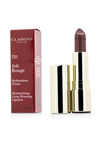 Clarins CLARINS - Joli Rouge (Long Wearing Moisturizing Lipstick) - # 731 Rose Berry 3.5g/0.12oz 194FFBE852CA03GS_1