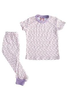 Floral Pajama Set for Girls