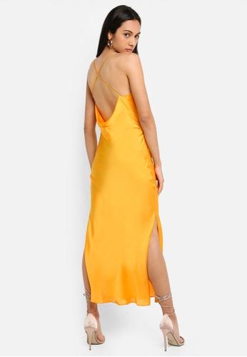 a43632d94a9d9 Buy TOPSHOP Plain Satin Slip Dress Online on ZALORA Singapore