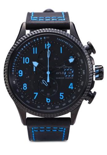esprit mongkokHawker Hunter 皮革腕錶, 錶類, 計時型