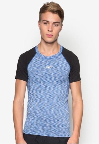 印花撞色短袖esprit官網TEE, 服飾, T-shirts