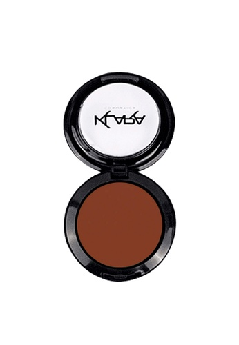 KLARA COSMETICS brown Matte Eyeshadow #33 - Saddle Brown E304CBE0CF3EB3GS_1