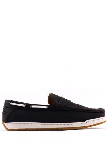 7soles black Brent MS Smart Casual Shoes 7S266SH0JRAHPH_1