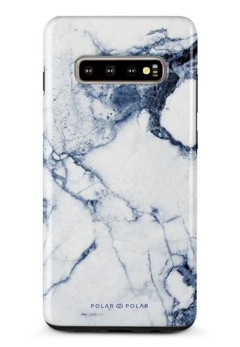 Polar Polar blue Indigo Vase Dual-Layer Tough Case Glossy For Samsung Galaxy S10 Plus 3C404AC3EC579FGS_1