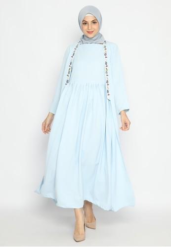 FEY ATTIRE blue Asteria Dress 14076AA03D1997GS_1