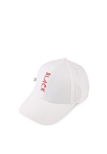 Fidelio white The Black Cotton Cap 8270FACED8F527GS_1