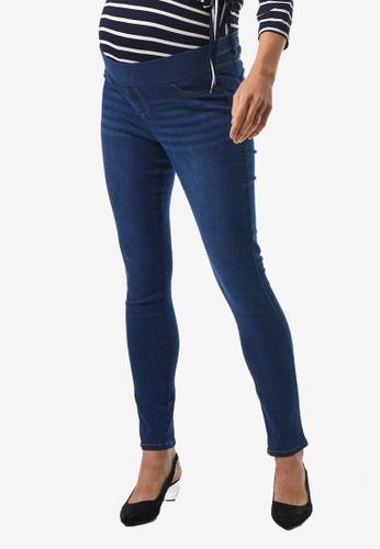Dorothy Perkins blue Maternity Mid Wash Under The Bump Ellis Jeans A726FAA5F7B2F4GS_1