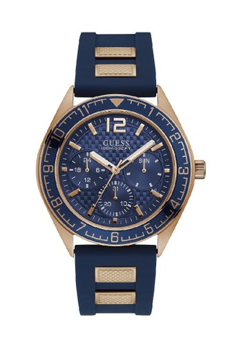 Guess Watch blue Guess Jam Tangan Pria Analog W1167G3 DD73CAC557C09AGS_1