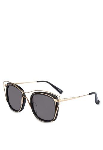 BLANC & ECLARE black Dubai Sunglasses 35A2AGL221F4E4GS_1