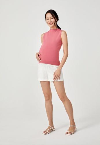 Love, Bonito white Haisley Linen Shorts AF186AA9BC311BGS_1