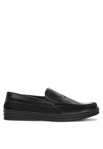 H2Ocean black Quaid Men's Casual Slip-ons 681ABSHFF4824AGS_1