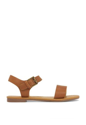 ROC Boots Australia brown Ellie Tan Sandal RO517SH06QORHK_1