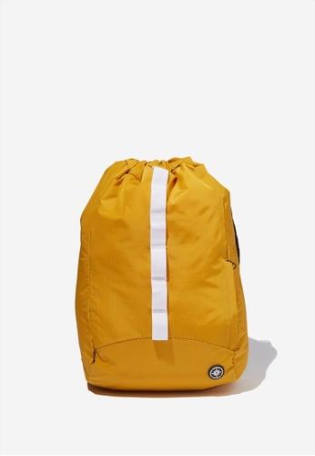 Cotton On gold Explore Drawstring Bag 1C841ACAE91074GS_1