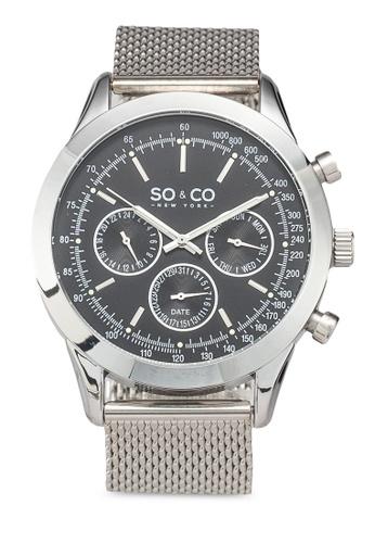 SO&CO silver Monticello 5006A Watch 3E494AC5FFC7F4GS_1