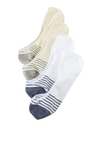 GAP beige SU21 Fashion No Show Socks 875F1AA8BD8069GS_1