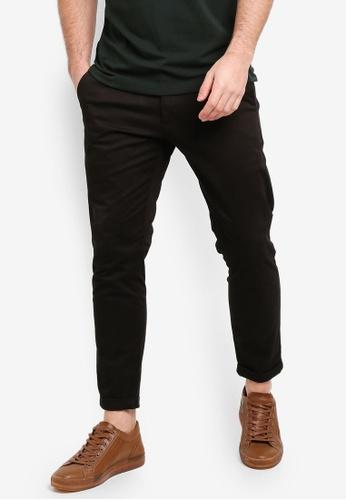 SPARROW GREEN 黑色 WALTER II Slim Tapered Pants 5FFDDAA7E9A140GS_1