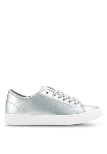 addicts anonymous silver Abana Metallic Sneakers AD479SH62HMVMY_1