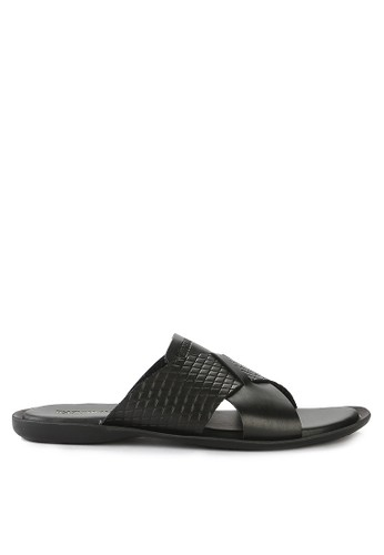 Watchout! Shoes black Sandals Slip On F0424SHE7F0388GS_1