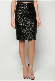 Dessa Sequin Skirt