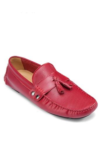 沖孔流蘇樂福鞋, esprit china鞋, 船型鞋