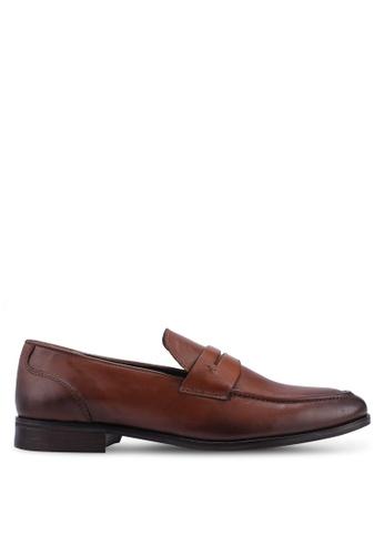 Burton Menswear London brown Tan Leather Formal Loafers 65CBBSH4E206E1GS_1