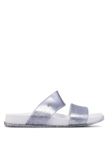 Melissa white Melissa Cosmic Ad Sandals 32EB2SHF3141AAGS_1