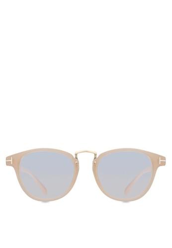 Ms zalora是哪裡的牌子Mia 圓框眼鏡, 飾品配件, 眼鏡