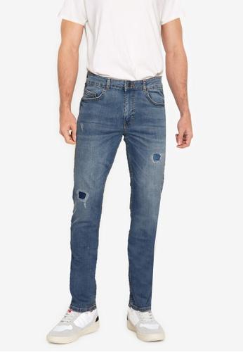 Aeropostale blue Slim Fit Jeans 5BAB7AADE58E6CGS_1