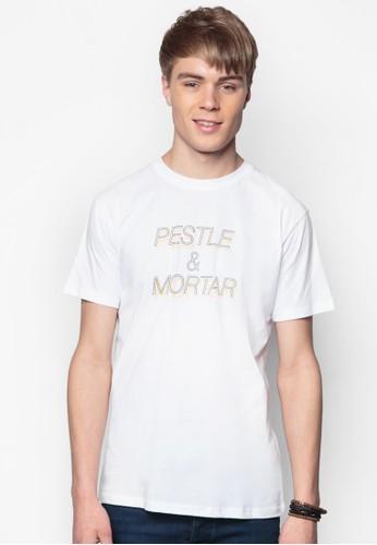 品牌標誌純棉TEE, 服飾, 印圖esprit香港分店T恤