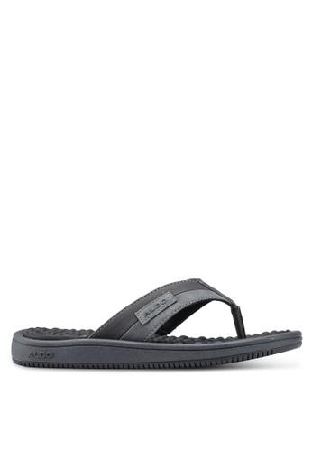 ALDO black Kaigoma Sandals 8EDE4SHBDB3701GS_1