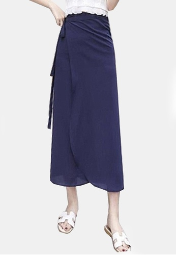 Twenty Eight Shoes navy VANSA Solid Color One-piece Skirt VCW-Sk8.P F15FCAA714A9CCGS_1