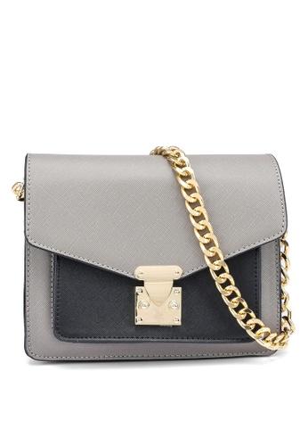 Swiss Polo grey Casual Sling Bag 778F0AC5665C3BGS_1