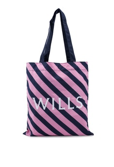 9199d78f9 Jack Wills pink and multi Ambleshire Shopper Tote Bag 3284DACB6CDF1EGS_1