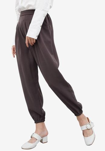 Berrybenka grey Fania Pants A65AEAAF627FB7GS_1