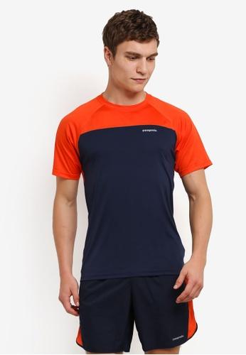 Patagonia orange and navy Short Sleeve Windchaser T-Shirt PA549AA0RQCUMY_1