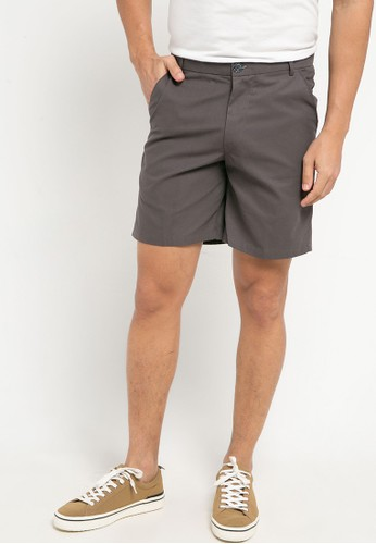Sparse Label grey EASY SHORTS CA519AA0F0EB93GS_1
