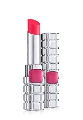 L'Oréal Paris pink L'Oreal Paris Color Riche Shine Lip Stick 919 Invincible Pink 28A51BE4EE401FGS_1