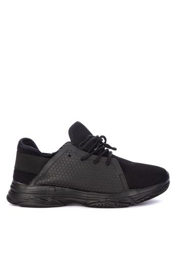 H2Ocean black Clovis Lace up Sneakers 2AF68SH45D5A29GS_1