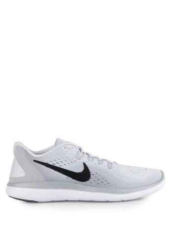 Nike grey Men's Nike Flex 2017 RN Running Shoes NI126SH0UQFSID_1