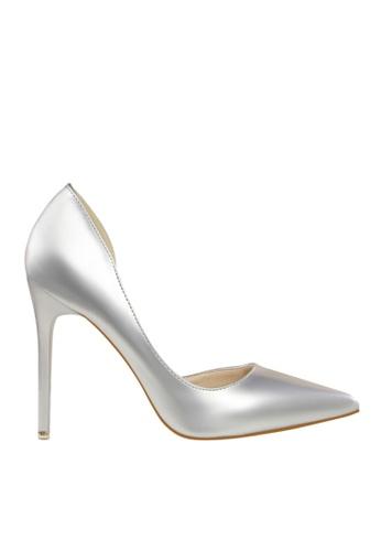 Twenty Eight Shoes 銀色 單邊通幫晚裝及新娘鞋 VP-6385 CFD96SH133DE93GS_1
